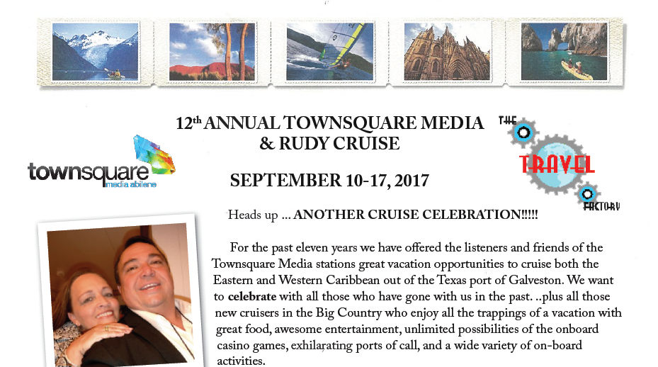 12th Annual Townsquare Media Rudy Cruise 2017