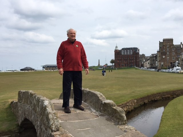 St. Andrews Old Course Bridge - Scotland