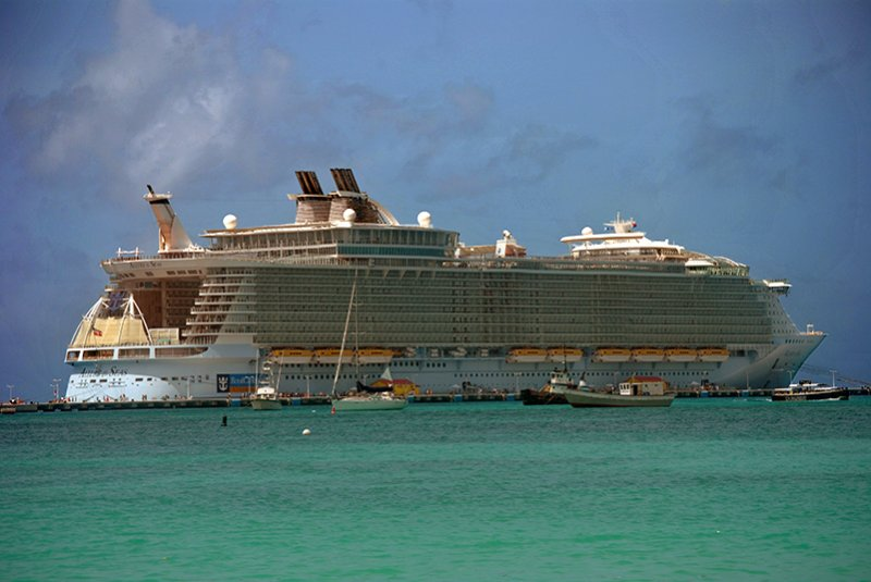 allure broadside - eastern carribean cruise - the travel factory