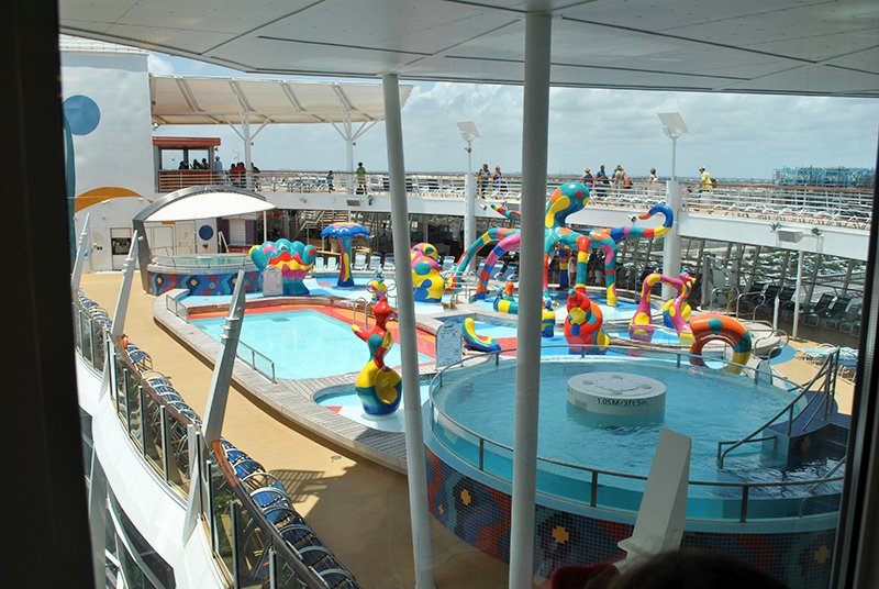childrens water park - eastern carribean cruise - the travel factory