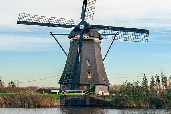 Windmills in Amsterdam with Charles Kirkpatrick