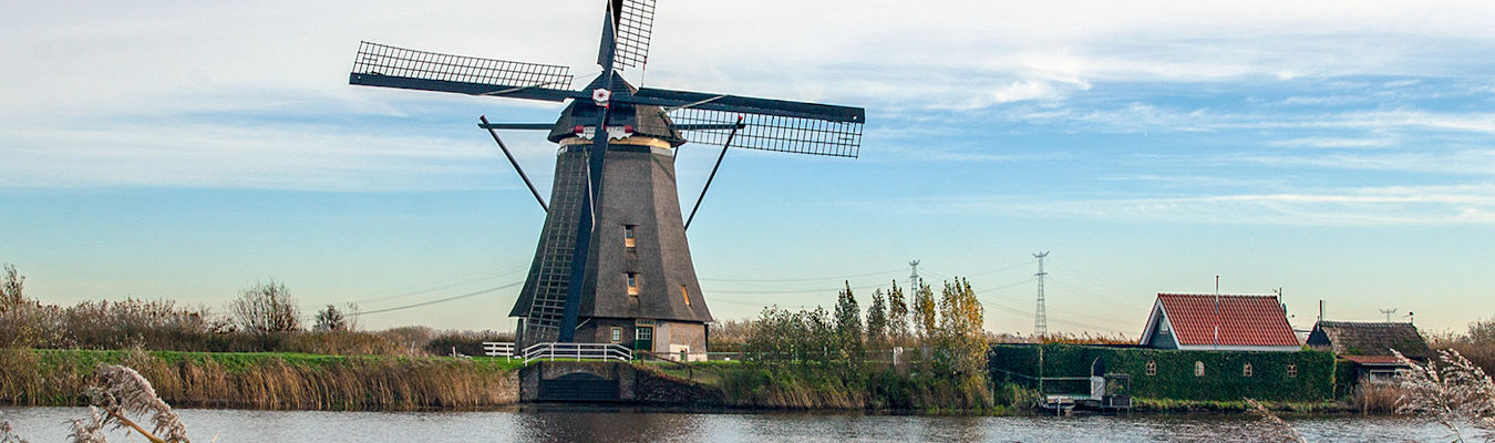 Windmill in Amsterdam with Charles Kirkpatrick